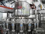Máquina de enchimento de engarrafamento não-carbonatada automática da bebida da bebida de leite da cerveja