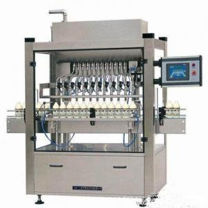 China Automatic Plastic Bottle Cooking Oil Filling Machine 3000 BPH Low Vacuum Gravity on sale