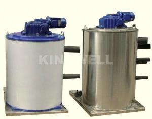 China 30 Ton Flake Ice Machine , Seawater Ice Machine Customized Voltage on sale