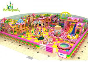China Indoor Play Themed Playground Equipment Colorful Theme SGS Certification on sale