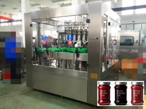 China High Viscosity Ketchup / Honey / Jam / Automatic Liquid Filling Machine Piston Filling 6000 bottles per hour on sale