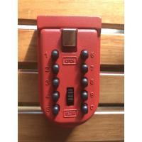 Zinc alloy Push Button Combination Key Lock Box Wall Mounted