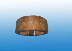 China Heat Resistant Non Asbestos Woven Brake Lining , Crane Brake Liner Material on sale
