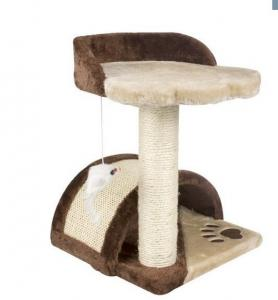 China Climbing Cat Scratching Tree Stable Square - Shaped Base Room Corner Placement on sale