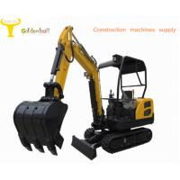 China Good performance small size hydraulic excavator with rubber reack on sale