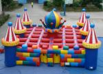 China Colourful circus big  inflatable maze sport game outdoor inflatable sport games for sale wholesale