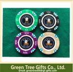 Customized poker chips Ceramic chips plastic poker chip set for gambling