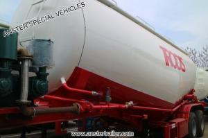 China 30/40/50/60 m3/ Cbm Pneumatic Bulk Cement Tank Trailer for Sale with Q235 material on sale