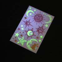 Transformers Glow In The Dark Tattoo Stickers Temporary Eco Friendly