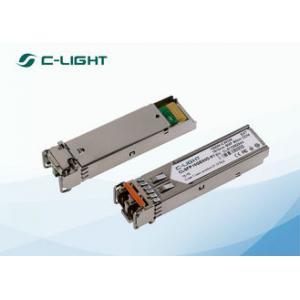 China 1000M High Performance CWDM SFP Transceiver 1.25G 1000BASE 1610nm on sale