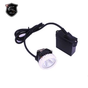 China KL5LM A Waterproof IP68 4000lux LED mining head lamp with 5Ah rechargeable Li-ion battery on sale