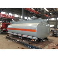 Hydrochloric Acid Tank Body For Lorry Trucks Steel Lined PE 16mm -18mm  8CBM- 25CBM