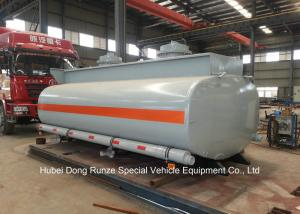 China Hydrochloric Acid Tank Body For Lorry Trucks Steel Lined PE 16mm -18mm  8CBM- 25CBM on sale