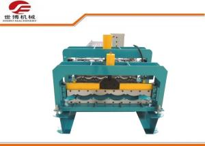 China Color Steel Metal Glazed Tile Roll Forming Machine Export To Indonesia on sale