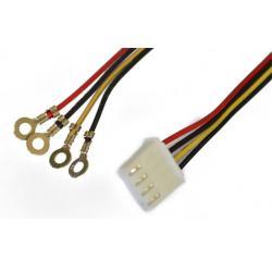 electronic_ul1007_flat_ribbon_wire_4_pin_molex_wire_harness_o_teminal electronic ul1007 flat ribbon wire 4 pin molex wire harness o molex wire harness at bakdesigns.co