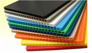China Corrugated Plastic  Sheet on sale