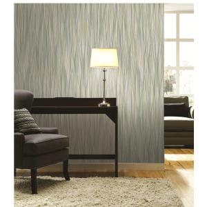 China Irregularity Vertical Stripes Stylish Fabric Wallpeper For Household on sale