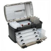 China Large ABS & foam  outdoor customized color waterproof fly box / fly fishing tackle on sale
