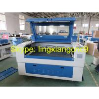 China W4 power laser wood cutting machine price and fabric laser cutting machine with honeycomb table on sale