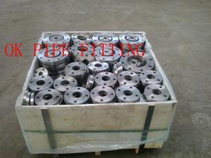 China Número P355QH1 1,0571 material do EN 1092-1 das flanges do pescoço da soldadura on sale