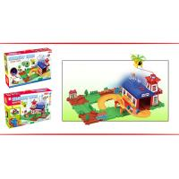China 2014 Electric Building Block with railway,B/O Educational plastic toys on sale