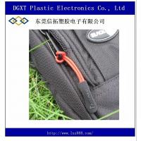 Wholesale slip-resistant black silicon zipper puller for apparel luggage bag sportwear