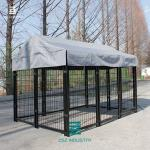 Outdoor Steel Mesh Fencing Panels / Safe Metal Mesh Fence Panels Pallet Packaging
