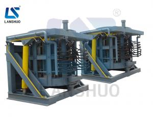 China Steel Scrap Iron Aluminum Copper Electromagnetic Induction Melting Furnace on sale
