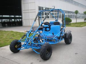 Quality 2 Seater Electic Mini Go Kart For Kids Blue Off Road With CE Sale