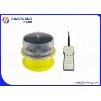 China Remote Control  Solar Aviation Obstruction Light , High Efficient  LED Solar Light on sale