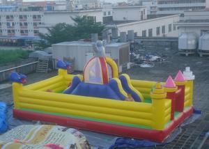 China Big Slide Altman Theme Inflatable Amusement Park For Kids Baby on sale