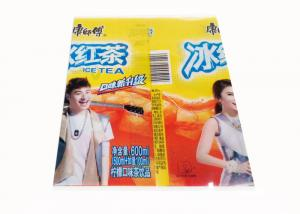 China Bottle Shrink Wrap Bottle Labels For Packaging With Custmized Logo on sale