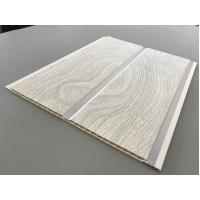 High Strength Peanut Pattern Groove Shaped PVC Wood Panels  250 × 7mm