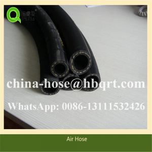 China ID 3/4 And 1 Length 50 Ft Rubber Air Hose Jackhammer 2 MPA Work Pressure on sale