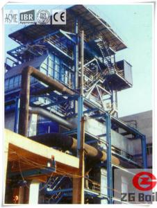 China Biomass Residue Fired Boiler biomass rice husk fired hot water boiler on sale