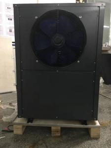 China high COP 10.8kW air source heat pump, side-discharge fan on sale