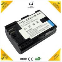 For Canon Digital Camera Battery LP-E6 with Full Decoded