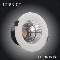 15W 100MM CUT-OUT COB led downlight for clothing shop, museum, library, restaurant hotel project