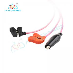 China Lemo ecg cable AHA ECG 3 Lead clip wires,tpu medical ecg cable on sale