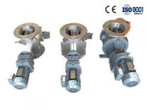 China Industrial 90L Blow Through Rotary Valve With Upper And Below Round Flange on sale