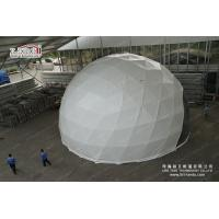 60m Outdoor Geodesic Dome Tents With Transparent PVC For F1 Event