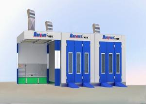 China 7M Outside Down Draft Garage Spray Booth , Prep Station Spray Booth Equipment on sale