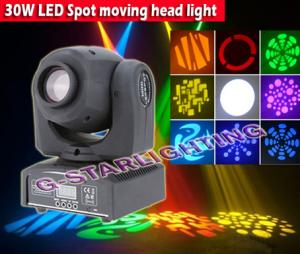 China Mini 10w/30w Spot Led Moving Head Light on sale