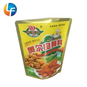 Quality Heat seal gravure printing stand up pouches with zipper for fast food packaging for sale
