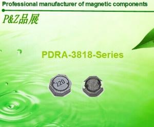 China PDRA3818 Series 1.0μH~330μH low resistance, competitive price, high quality elliptical SMD power inductor on sale