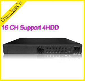 China 16CH Stand Alone Real Time Audio Network Video Recorders Hybrid DVR + NVR on sale