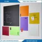 注文のサイズ、磁気なしの多彩なガラス執筆板