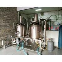 Full Automatic Mini Nano Brewery Equipment Stainless Steel 304 100L 200L 300L