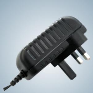 Quality 24W Wall Mount Universal AC Power Adapter EN60950 / EN60065 for Electronics for sale