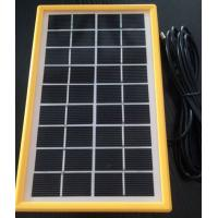 3 Watt Hot Water Mini Solar Panels , Light Weight Small Solar PlatePV Cell